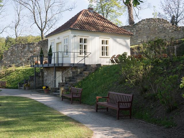 Blankenburg - Teehaus im Berggarten