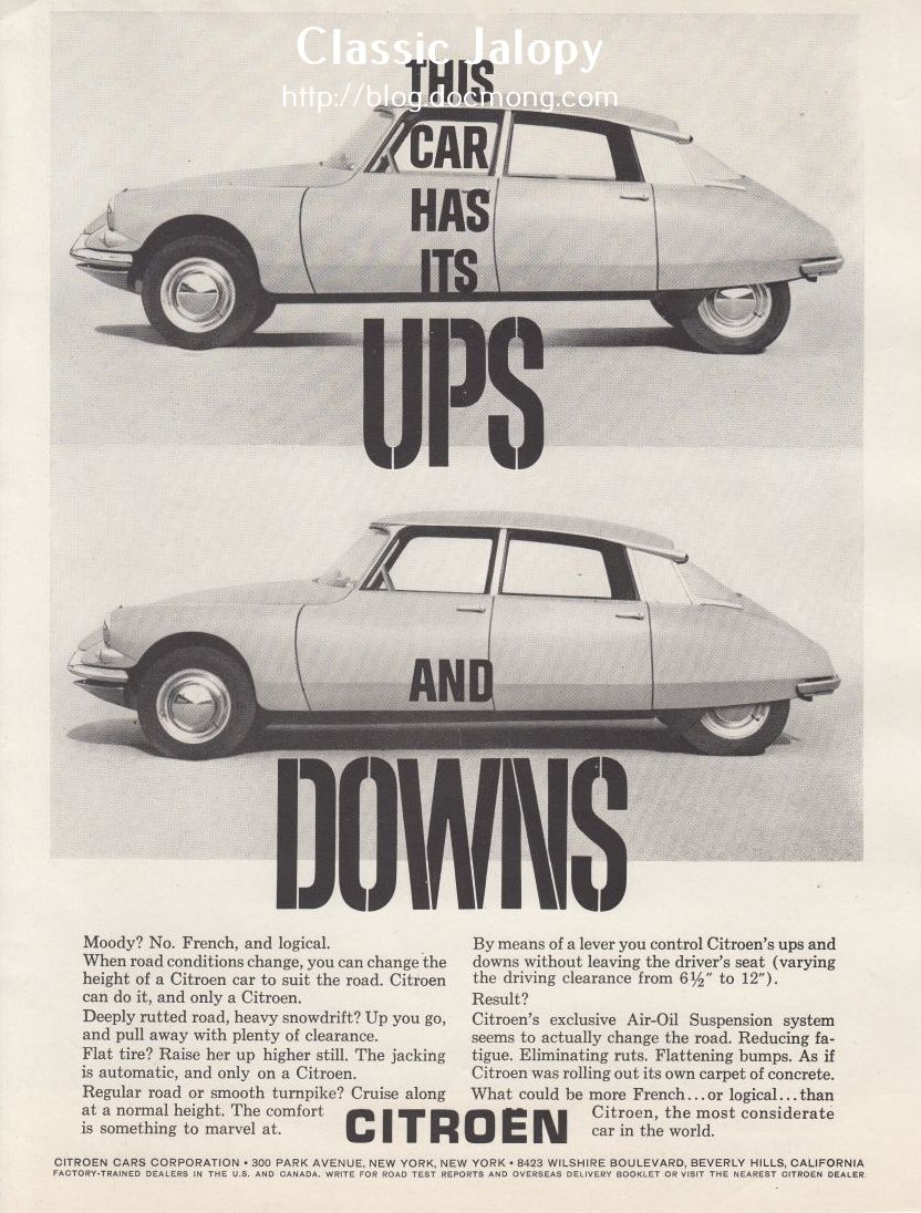 Citroen DS up and Down