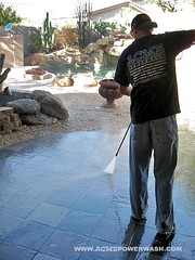Power Washing Scottsdale House by ACME POWERWASH