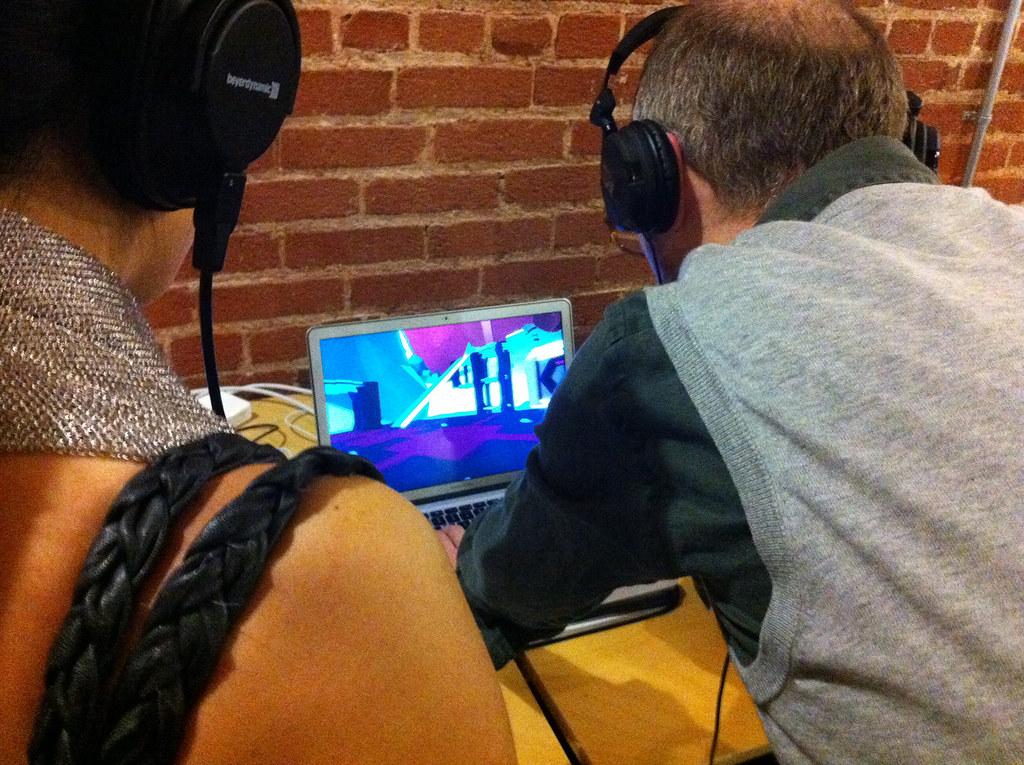 FRACT OSC playtest @ Indie Press Mixer