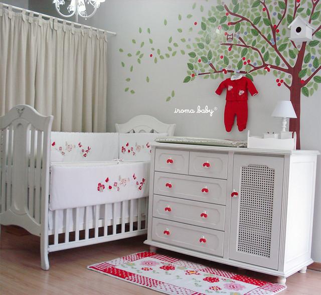 decoracao quarto de bebe jardim encantado : decoracao quarto de bebe jardim encantado:Quarto Fadinha e Joaninhas no Jardim