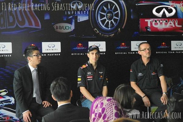 F1 driver Sebastien Buemi & Red Bull Racing 2012