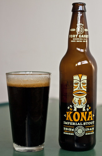 Review: Fort Garry Kona Imperial Stout by Cody La Bière