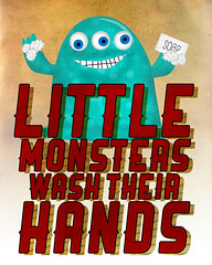 Little Monsters - Wash Hands