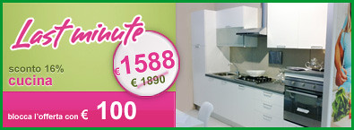 last-minute-cucina-1588 | Da Mobilya Megastore: Cucina in bi ...