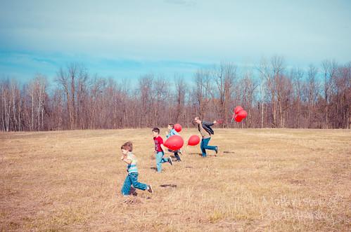 气球排出3.