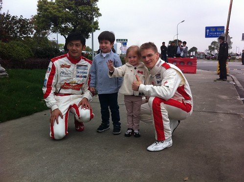 Ho-Pin Tung & Alexandre Imperatori with Scott & Elaine