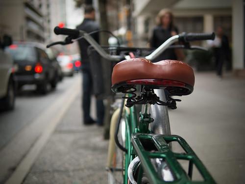 Comfy bike seat