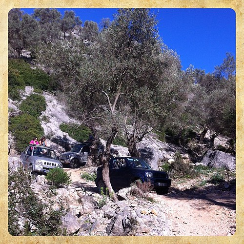 Jeep excursion in Mallorca