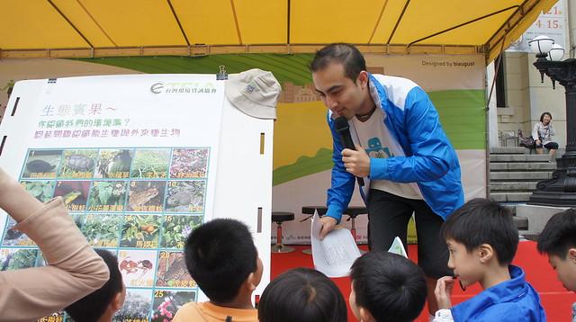 2012本會舉辦超過100場活動,面對面的溝通,推廣環境教育。