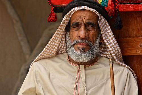 Emirati Market Vendor