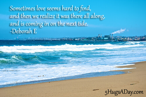 Sometimes Love Seems Hard To Find… via @5hugsaday | 5HugsADay.com
