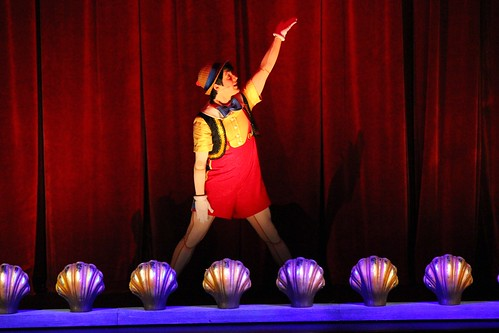Pinocchio - Wishes stage show