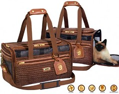boston tweed pet carrier