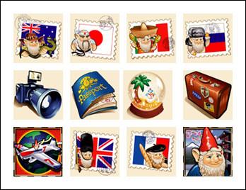 free Roamin' Gnome slot game symbols