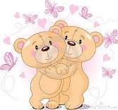 osos abrazados