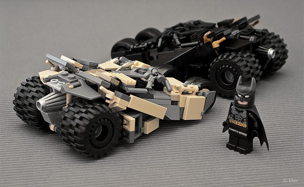 Batman Lego Tumbler v.2