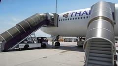 Thai Airways Boeing 777-200ER (HS-TJF), Suvarnabhumi Airport, Bangkok