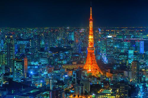 Tokyo city map ( HDR)