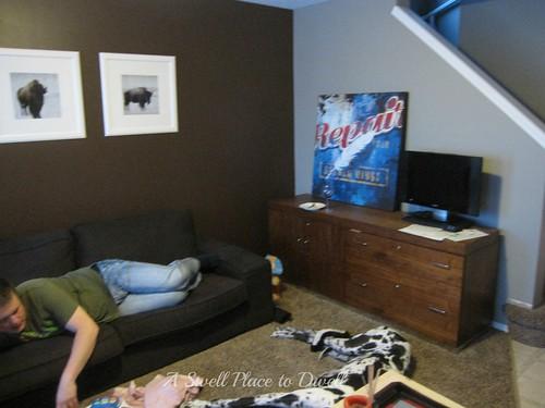 Livin Room Before 2 ASPTD
