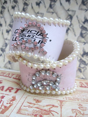 Custom Shabby Baseball Cuffs! 6