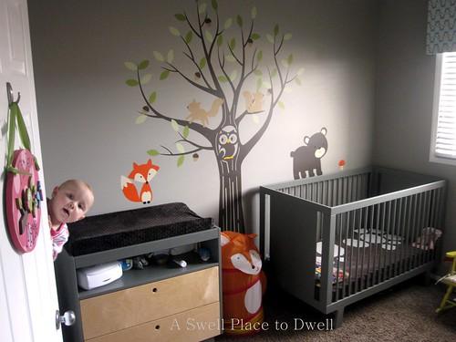 Forest Themed Nursery