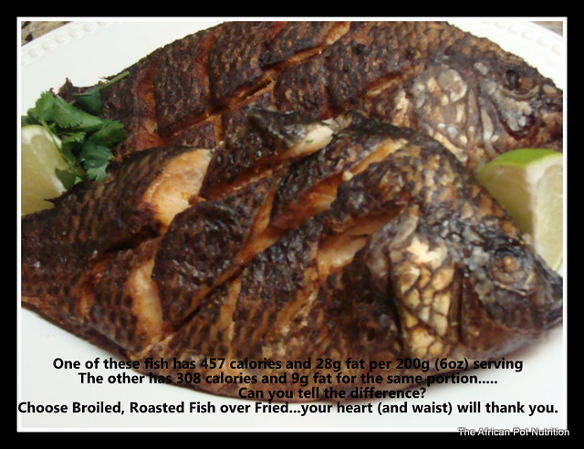 Photo for Fried fish nutrition