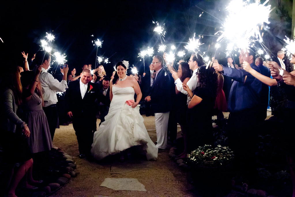 The wedding of Jason Nassi and April Kyle - The Exit