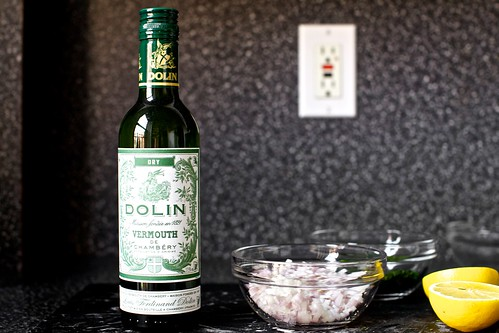 cooking with vermouth!