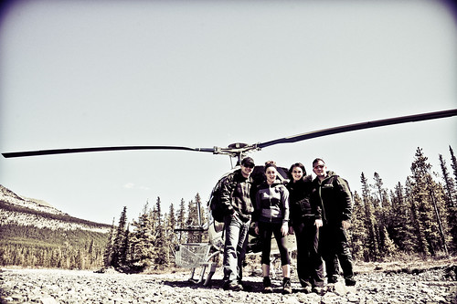 Calgary based photographer Cody James takes on a Heli-tour with some friends.