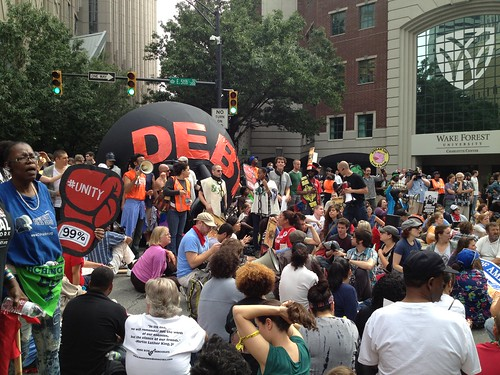 Bank Vs America: Thousands protest BofA in Charlotte