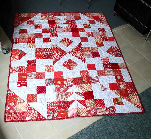 arrowhead corner quilt