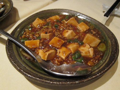 Ma Po Tofu and Mince in Hot Sauce