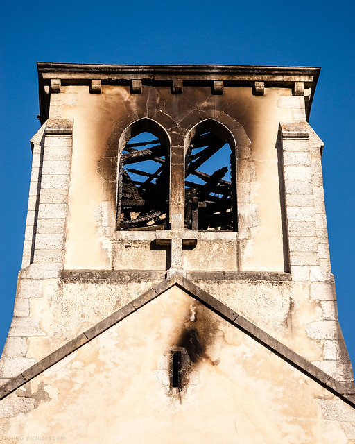 Church Fire, Chevry, France, 2012