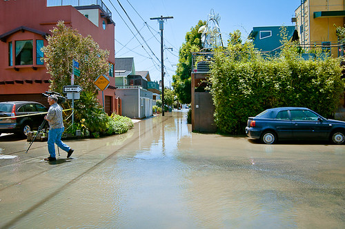 Flooding Venice Beach 5-11-12