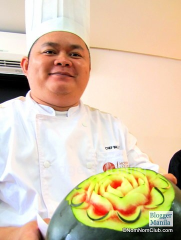 Chef Reymar of MCA
