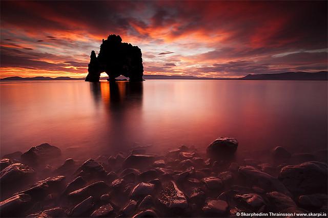 Tserkur Nafl North Iceland Flickr