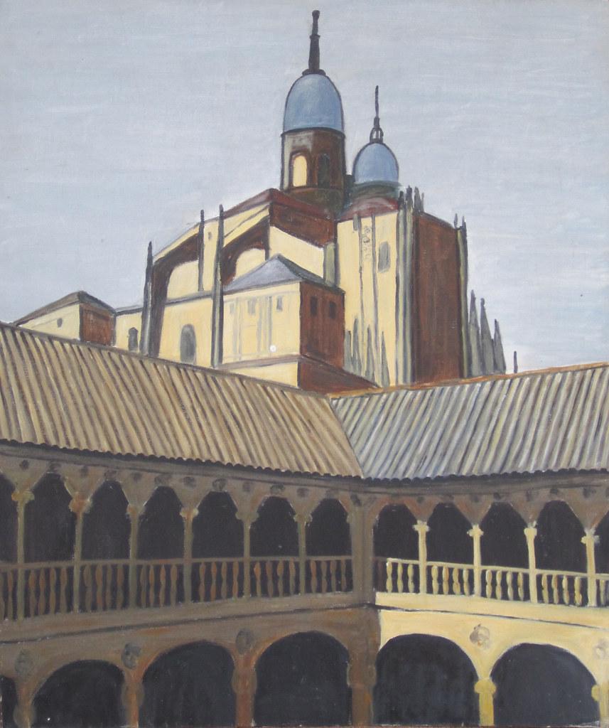 Salamanca Cathedral from Las Dueñas Convent
