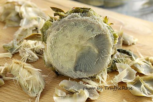 朝鮮薊 Artichoke 及其處理-120515