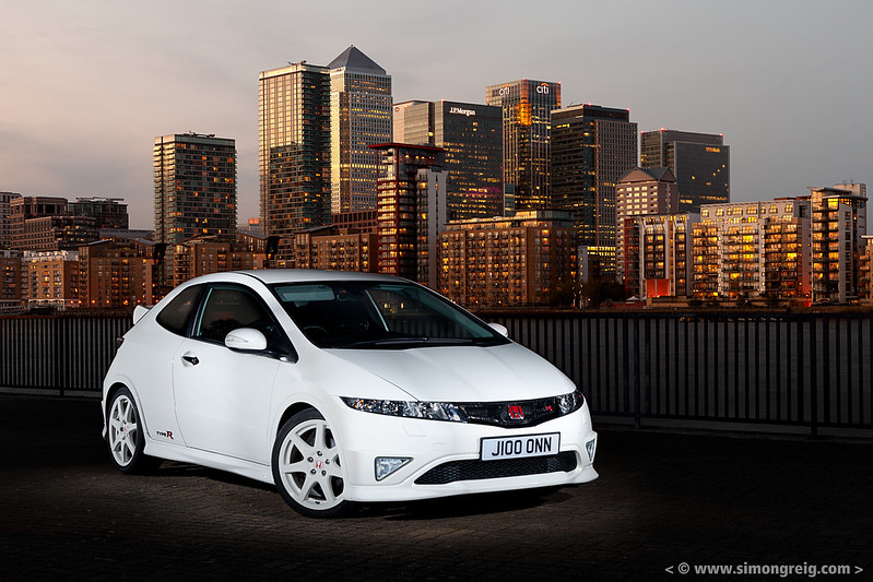 2010 Honda Civic Type R Championship White
