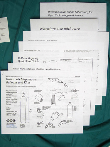 printed matter for balloon kit