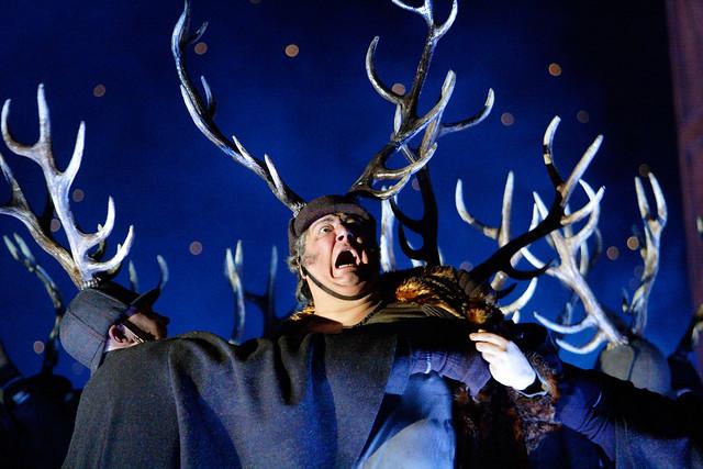 Ambrogio Maestri as Falstaff © Catherine Ashmore/ROH 2012