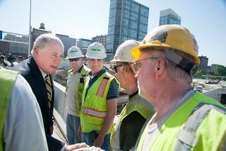 Gov. Quinn Announces Re-Opening of Congress Parkway Bridge