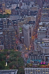 Evening on Flatiron District by Lydia2222