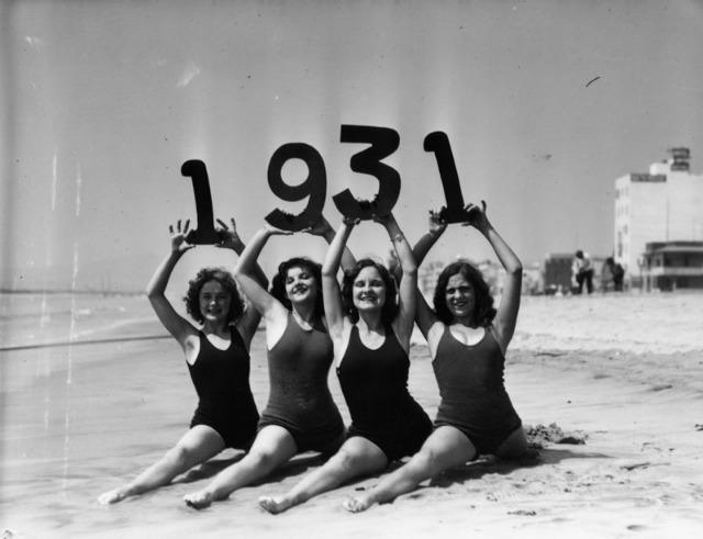 vintage beach babes 1931