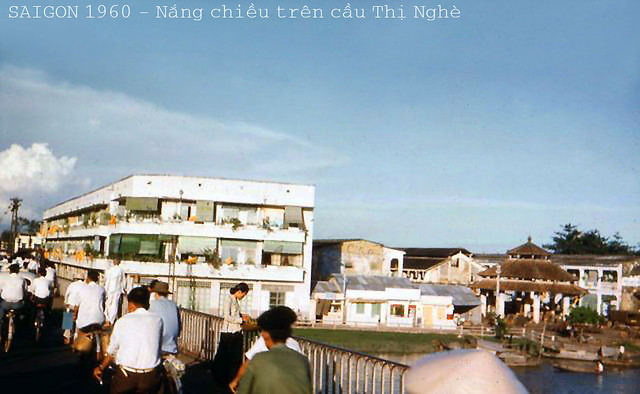 SAIGON BEFORE THE WAR IN 1960 - Cầu Thị Nghè