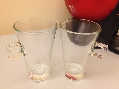 拿鐵咖啡玻璃杯組