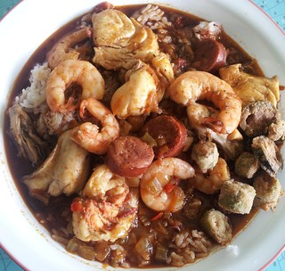 Not N'awlins Andouille & Seafood Gumbo 1
