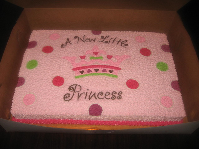 new little princess baby shower cake by sweetmonni flickr