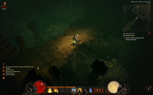Diablo 3 Schuft Dialog